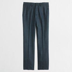 J. CREW 32 x 32 Slim Bedford Trousers Pants Wool